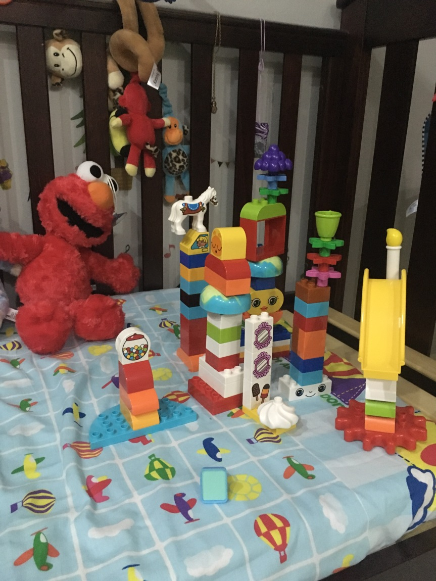 How can LEGO DUPLO help with your toddler'sdevelopment?